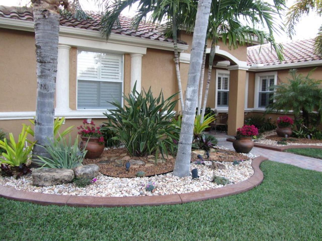 Front Yard Landscaping With Rocks 28