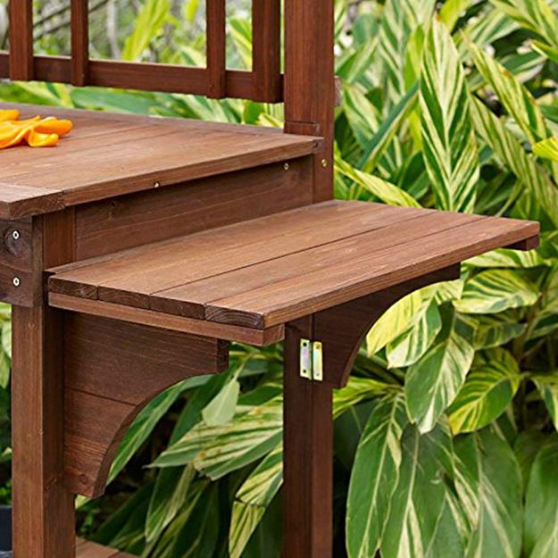 Outdoor Garden Potting Bench Design Ideas 5