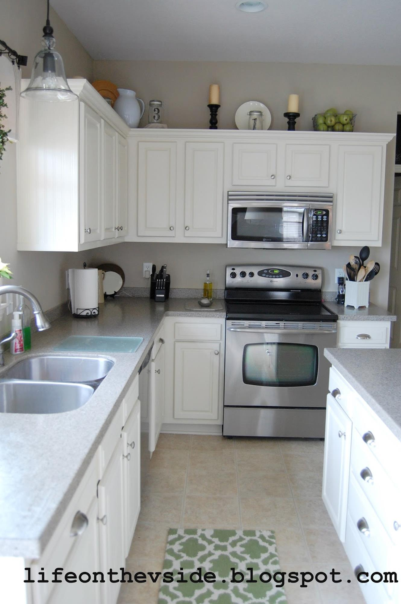 Painted Kitchen Cabinets Before And After 13
