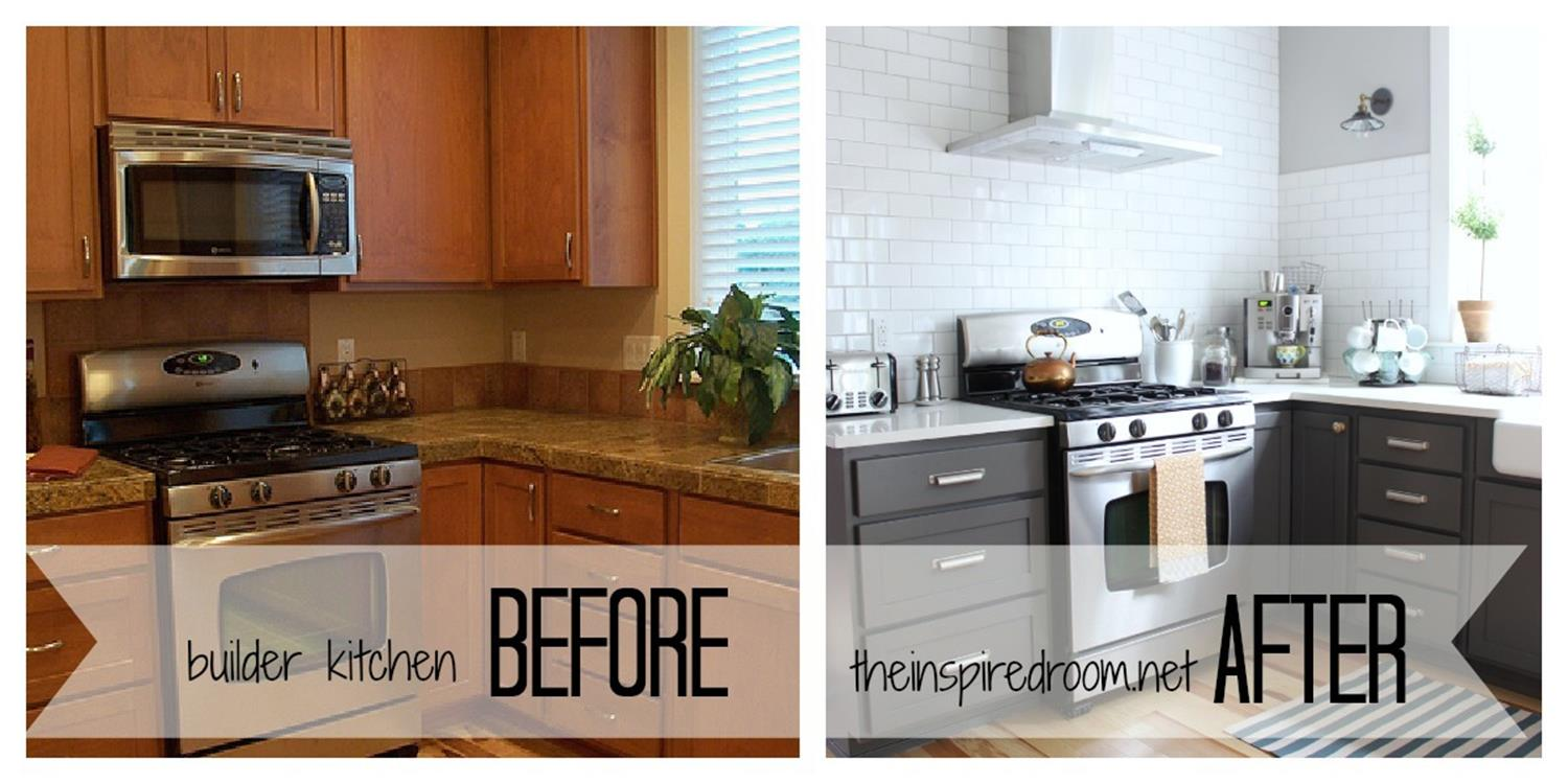 Painted Kitchen Cabinets Before And After 33