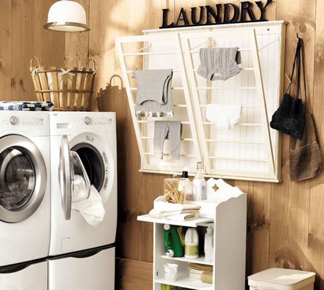 Vintage Laundry Room Decoration Ideas 25