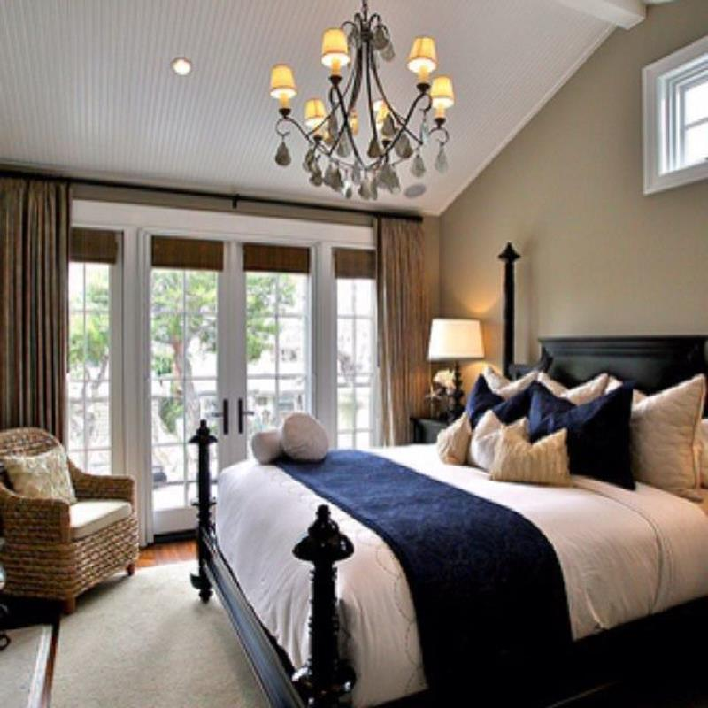 Blue And Beige Bedrooms Decorating Ideas 26
