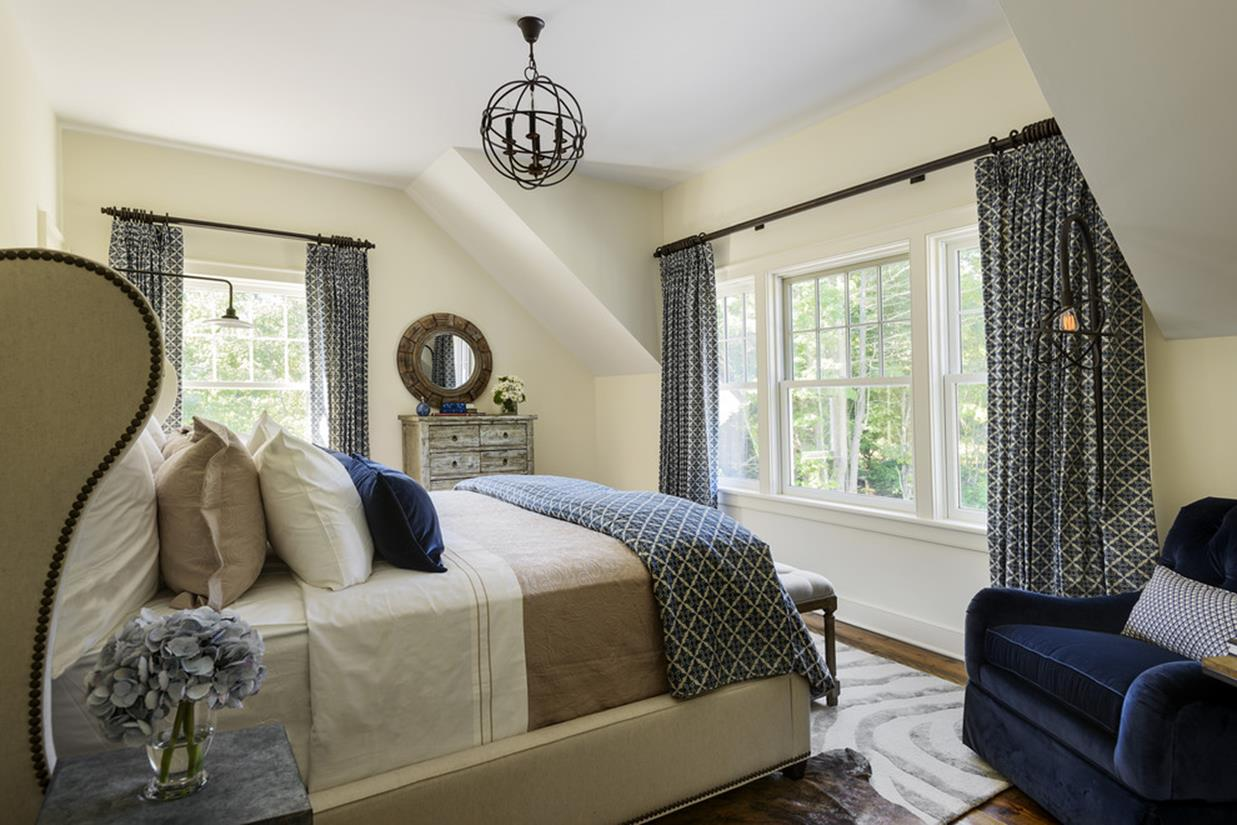 Blue And Beige Bedrooms Decorating Ideas 33