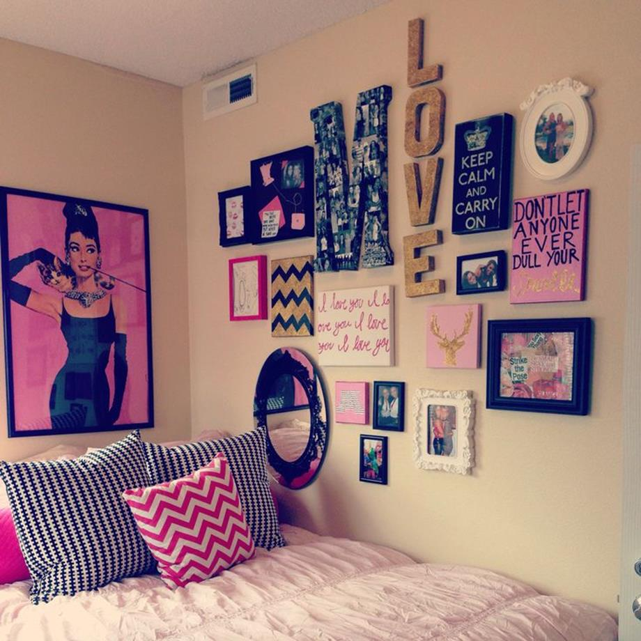 College Dorm Wall Decor For Girl 11