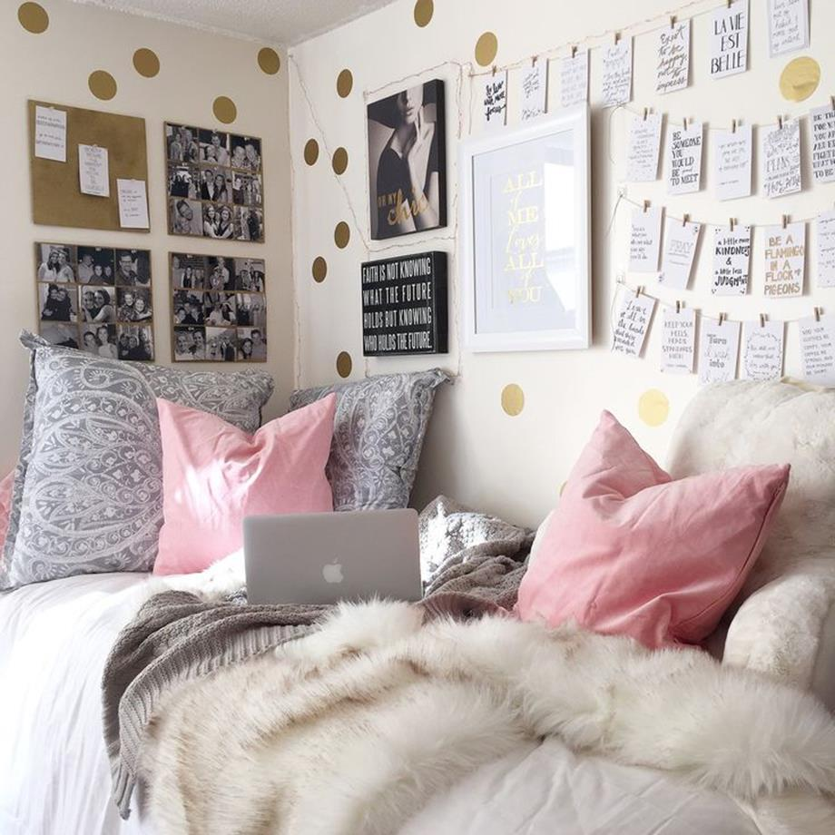 College Dorm Wall Decor For Girl 20