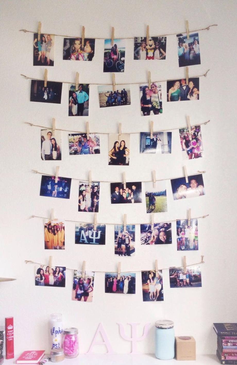 College Dorm Wall Decor For Girl 36