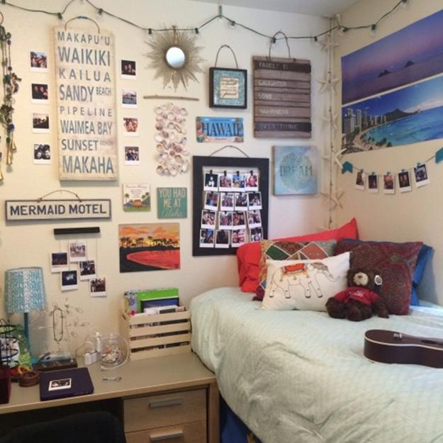 College Dorm Wall Decor For Girl 38