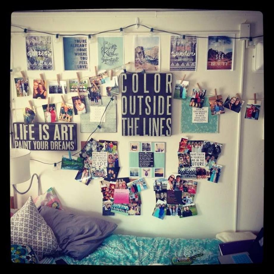 College Dorm Wall Decor For Girl 9