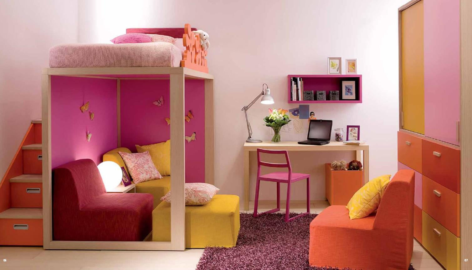 Color Full Kids Room Decorating Ideas On A Budget 2