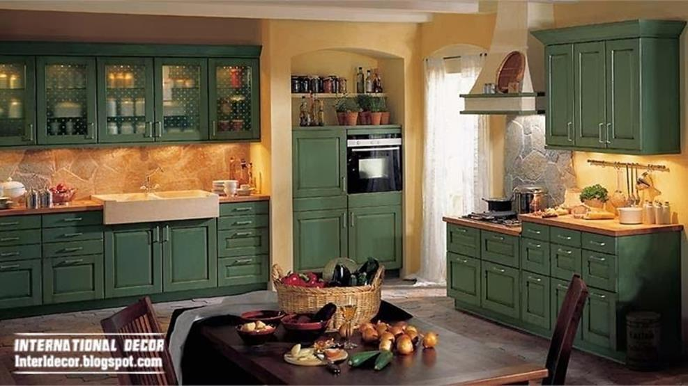 Country Style Kitchen Cabinets Design Ideas 20