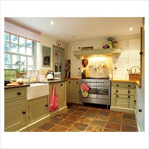Country Style Kitchen Cabinets Design Ideas 3