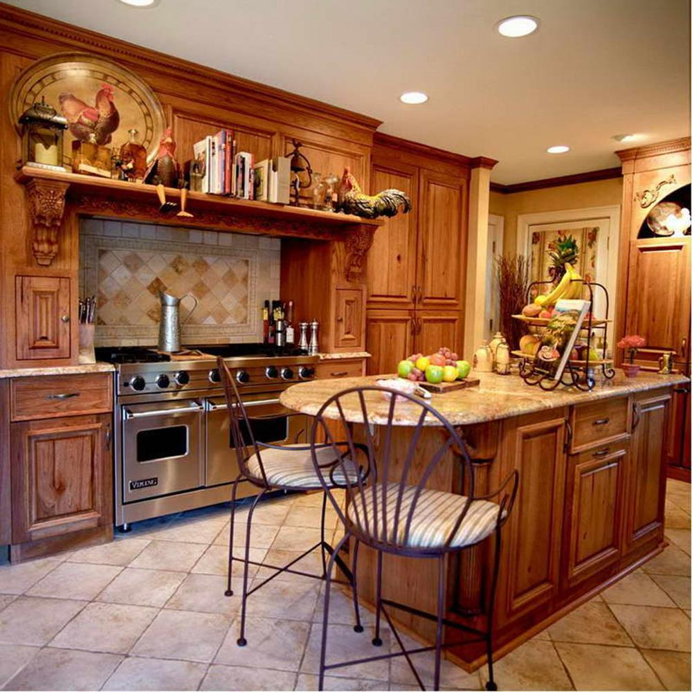 Country Style Kitchen Cabinets Design Ideas 30