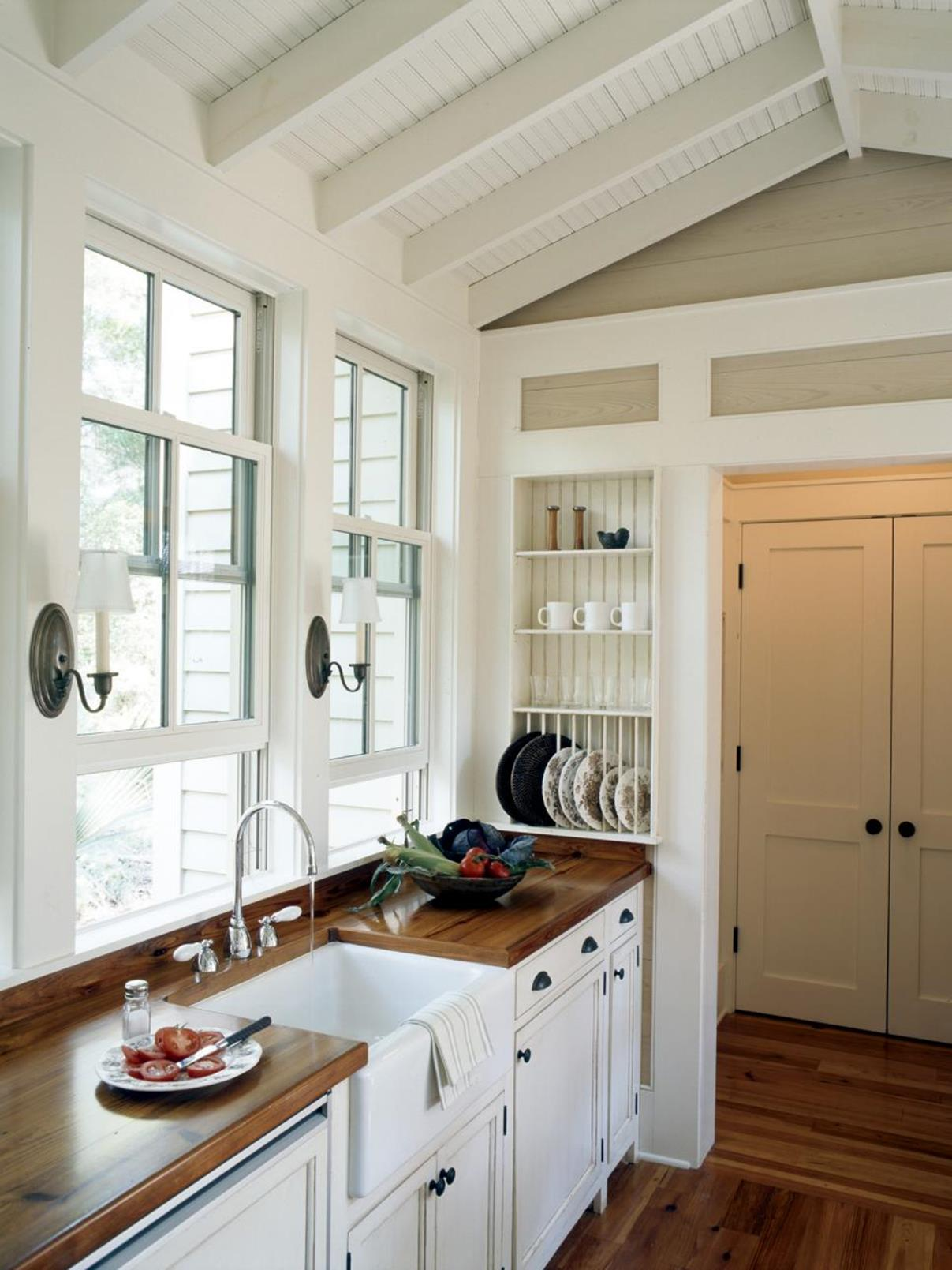 Country Style Kitchen Cabinets Design Ideas 36