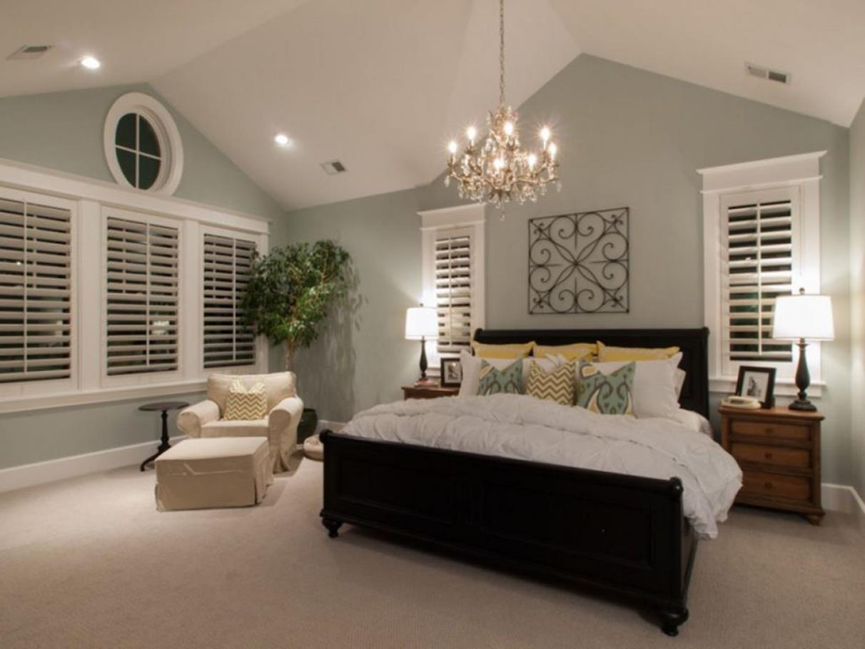 Cozy Romantic Relaxing Bedroom Color Ideas 17