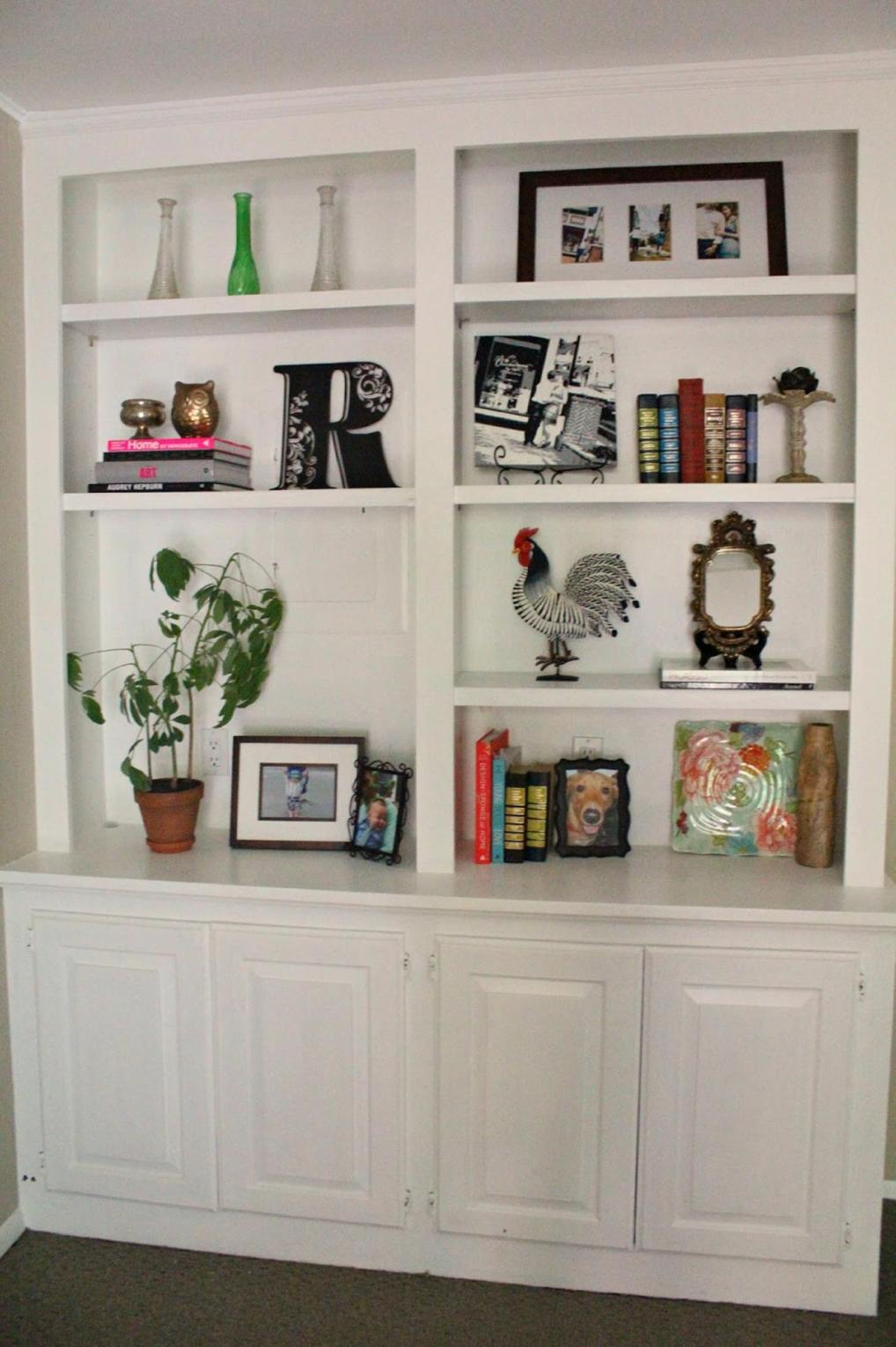 Diy Bookcase Ideas Decorating Ideas 43