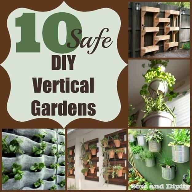 Easy DIY Vertical Garden Indoor Ideas 25