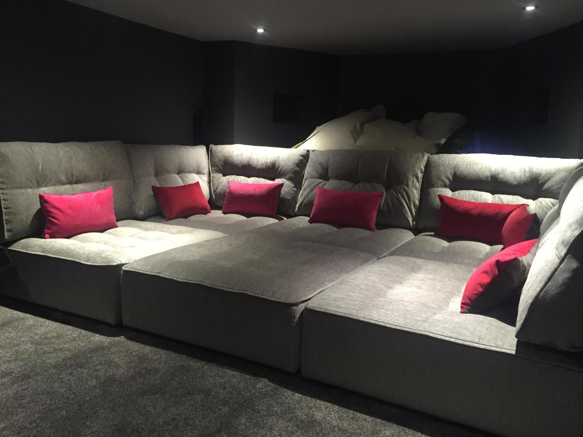 Home Theater Couch Living Room Furniture 14