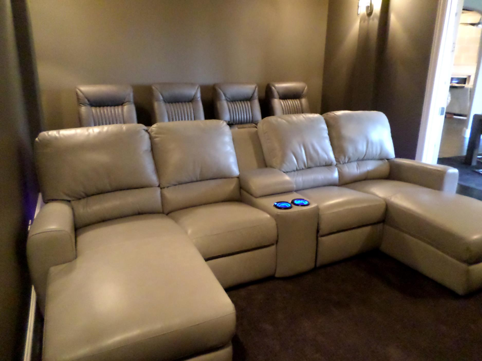 Home Theater Couch Living Room Furniture 24