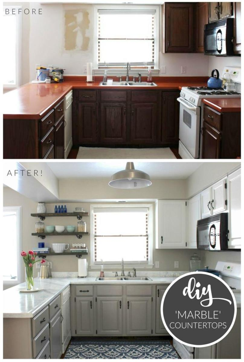 Kitchen Makeover Ideas On A Budget 1