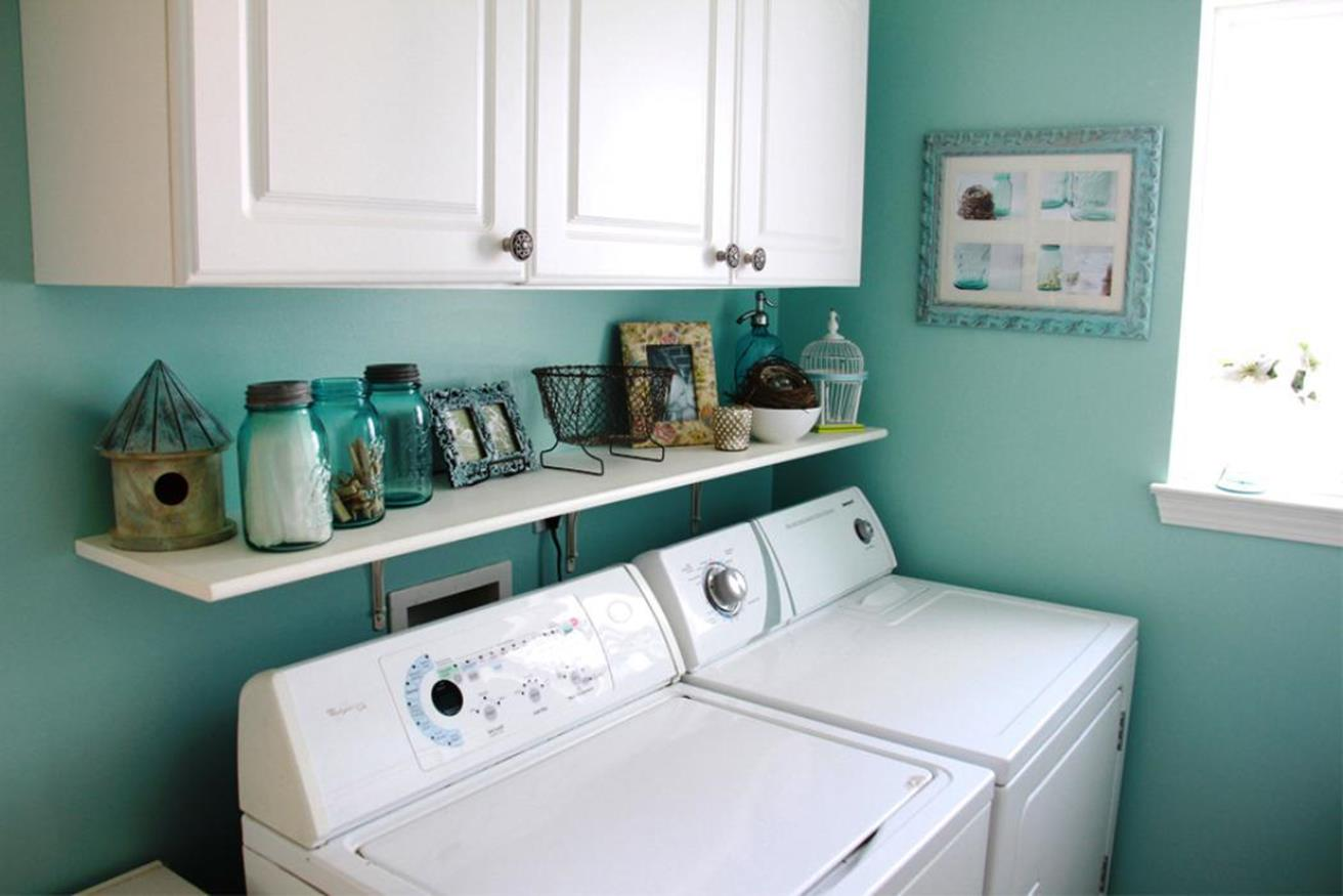 Laundry Room Accessories Decorations Ideas 12