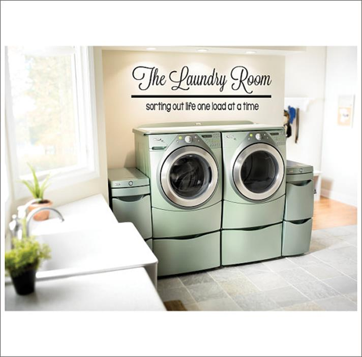 Laundry Room Accessories Decorations Ideas 16