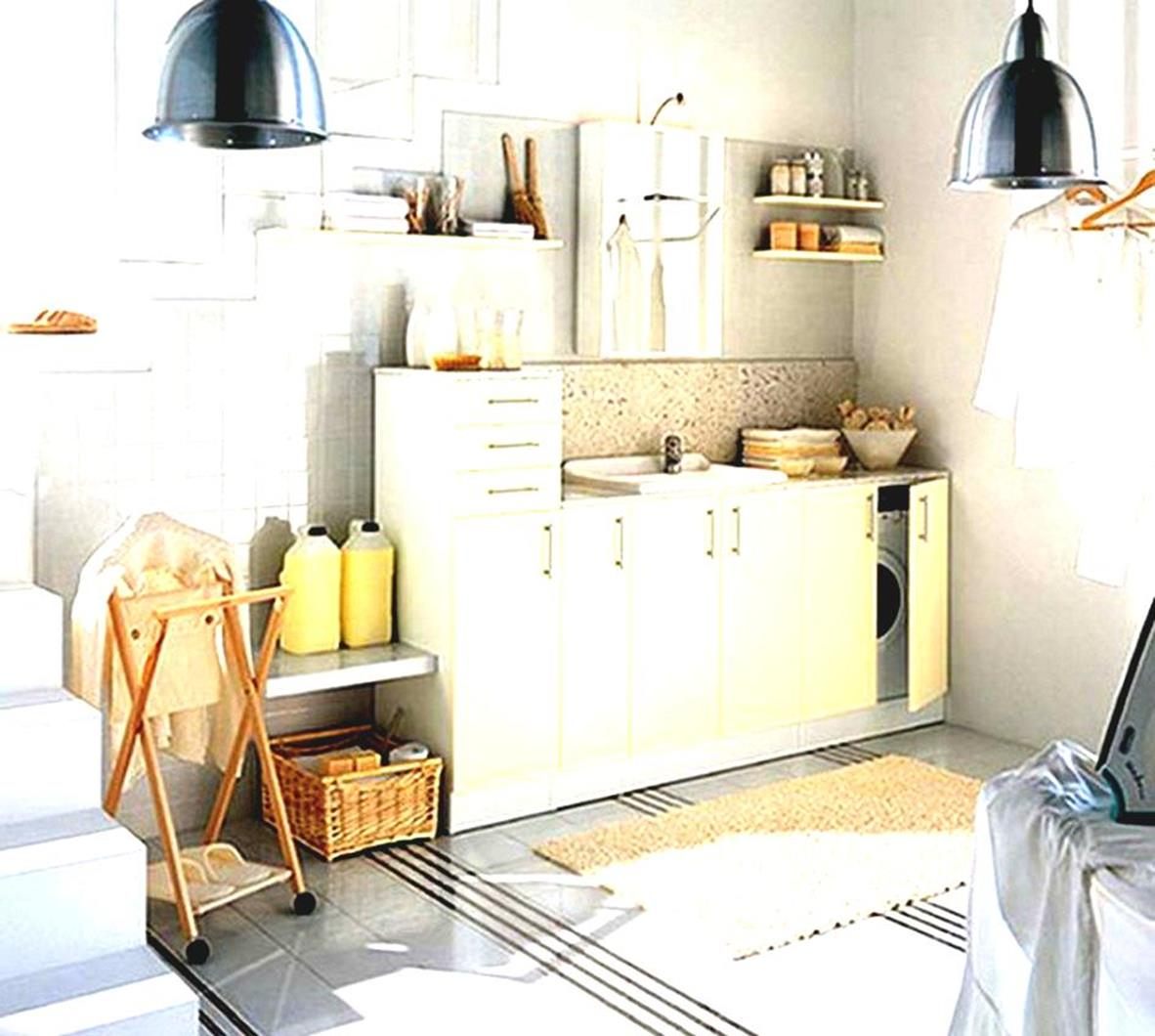 Laundry Room Accessories Decorations Ideas 29