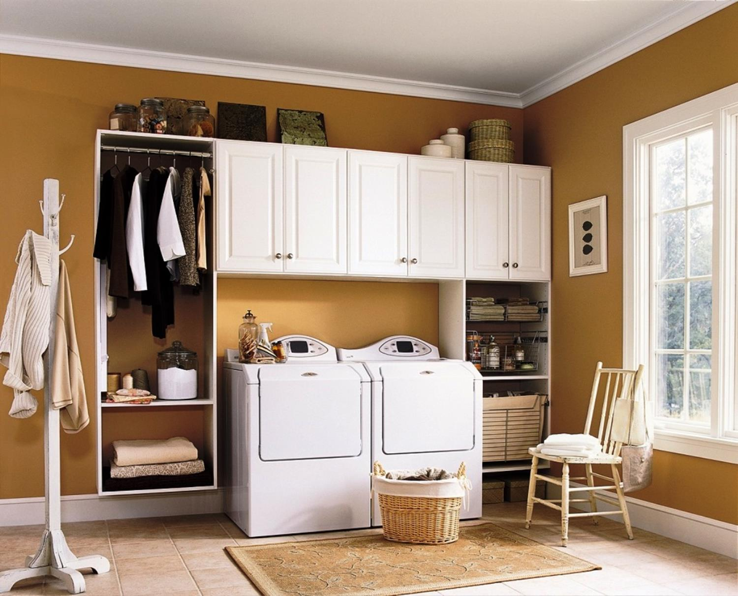 Laundry Room Accessories Decorations Ideas 9