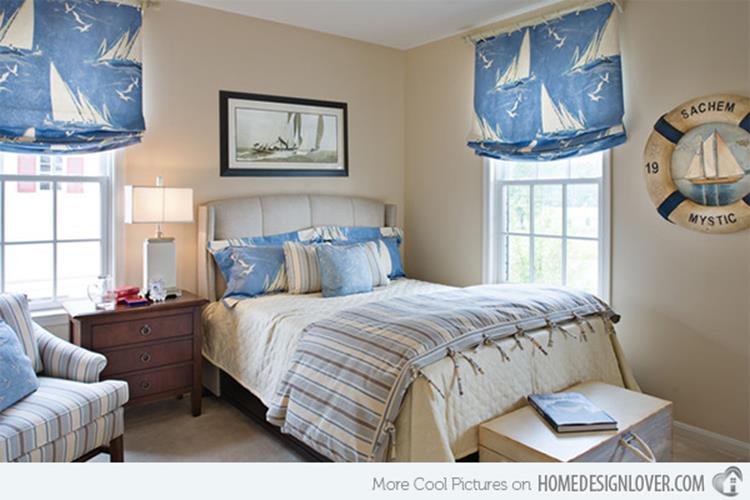 Nautical Themed Bedroom Design and Decor Ideas 16