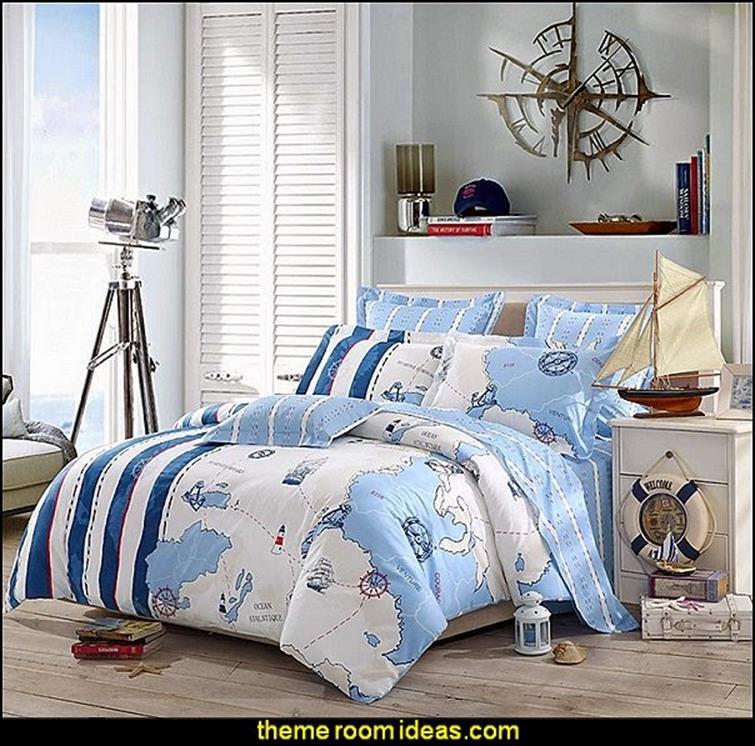 Nautical Themed Bedroom Design and Decor Ideas 31