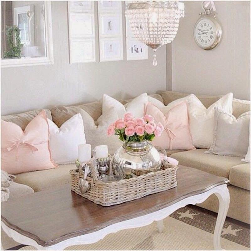 Shabby Chic Living Room Decorating on A Budget 1