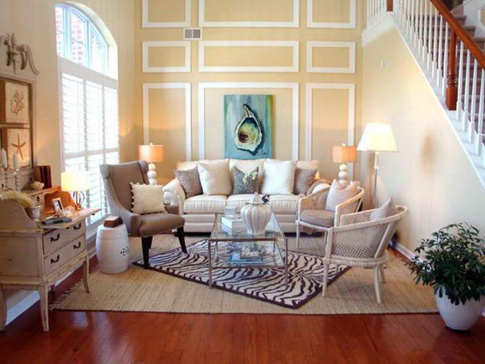 Shabby Chic Living Room Decorating on A Budget 11