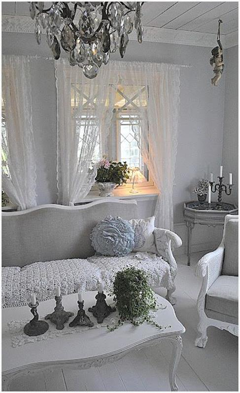 Shabby Chic Living Room Decorating on A Budget 3