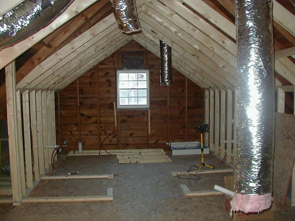 Attic Makeovers Ideas On a Budget 10