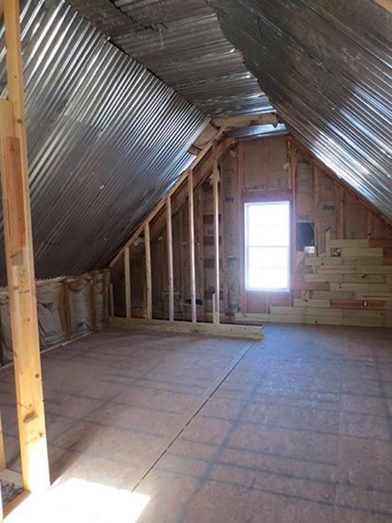 Attic Makeovers Ideas On a Budget 14