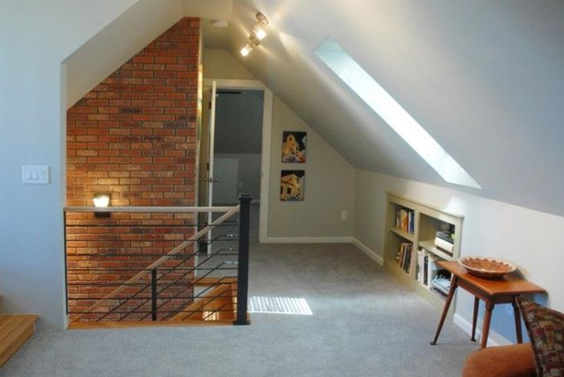 Attic Makeovers Ideas On a Budget 38