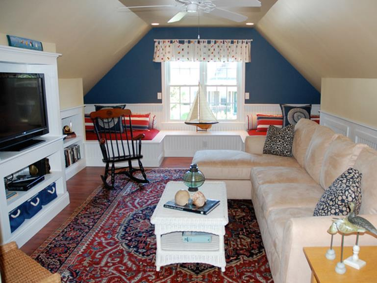 Attic Makeovers Ideas On a Budget 4