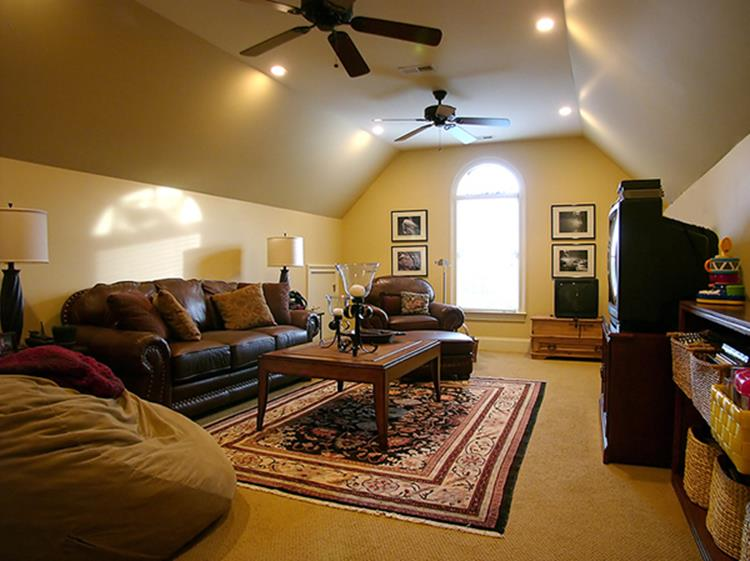 Attic Makeovers Ideas On a Budget 8