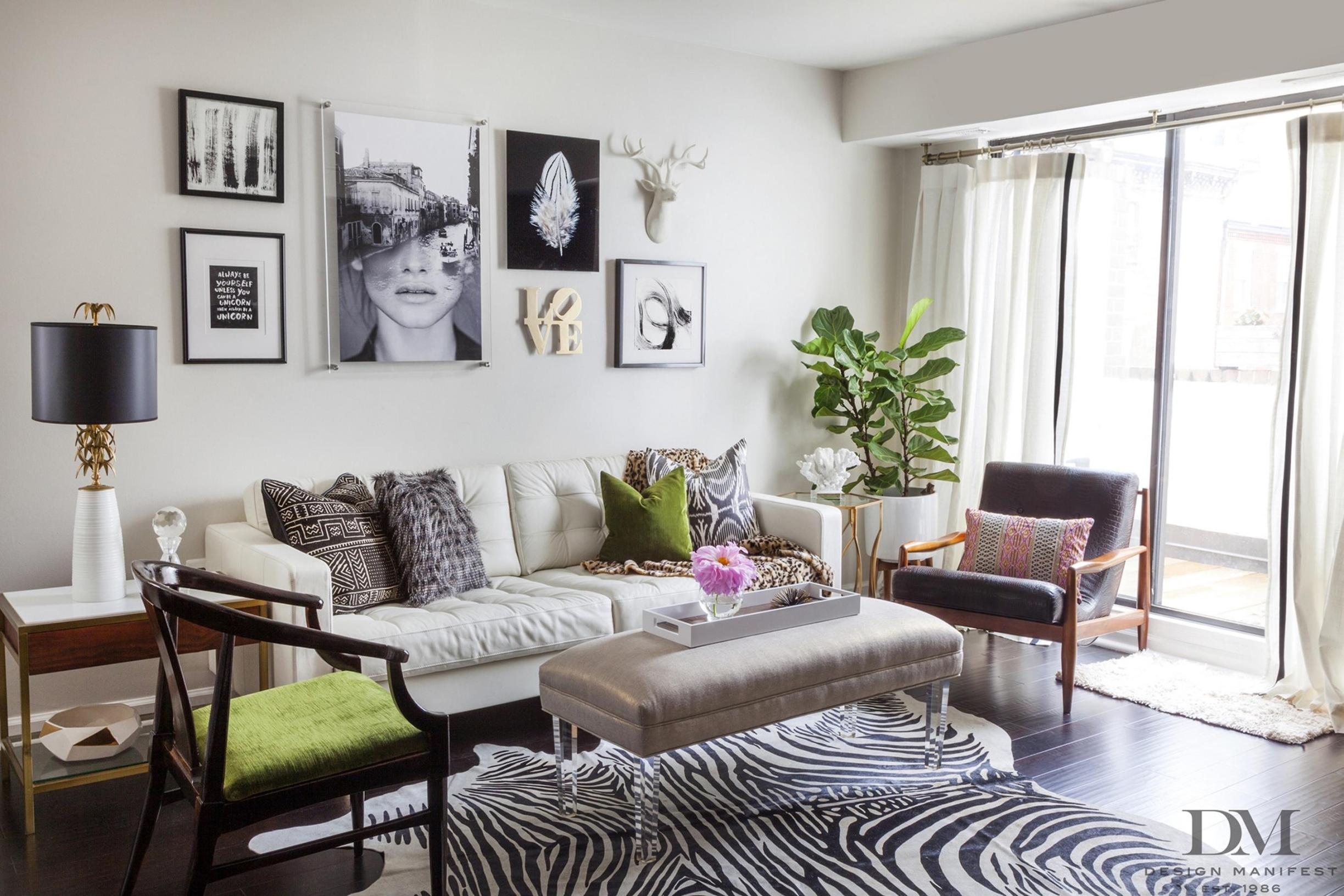 City Chic Living Room Decorating Ideas On a Budget 14