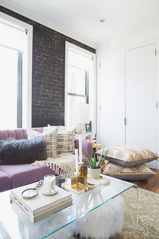 City Chic Living Room Decorating Ideas On a Budget 4
