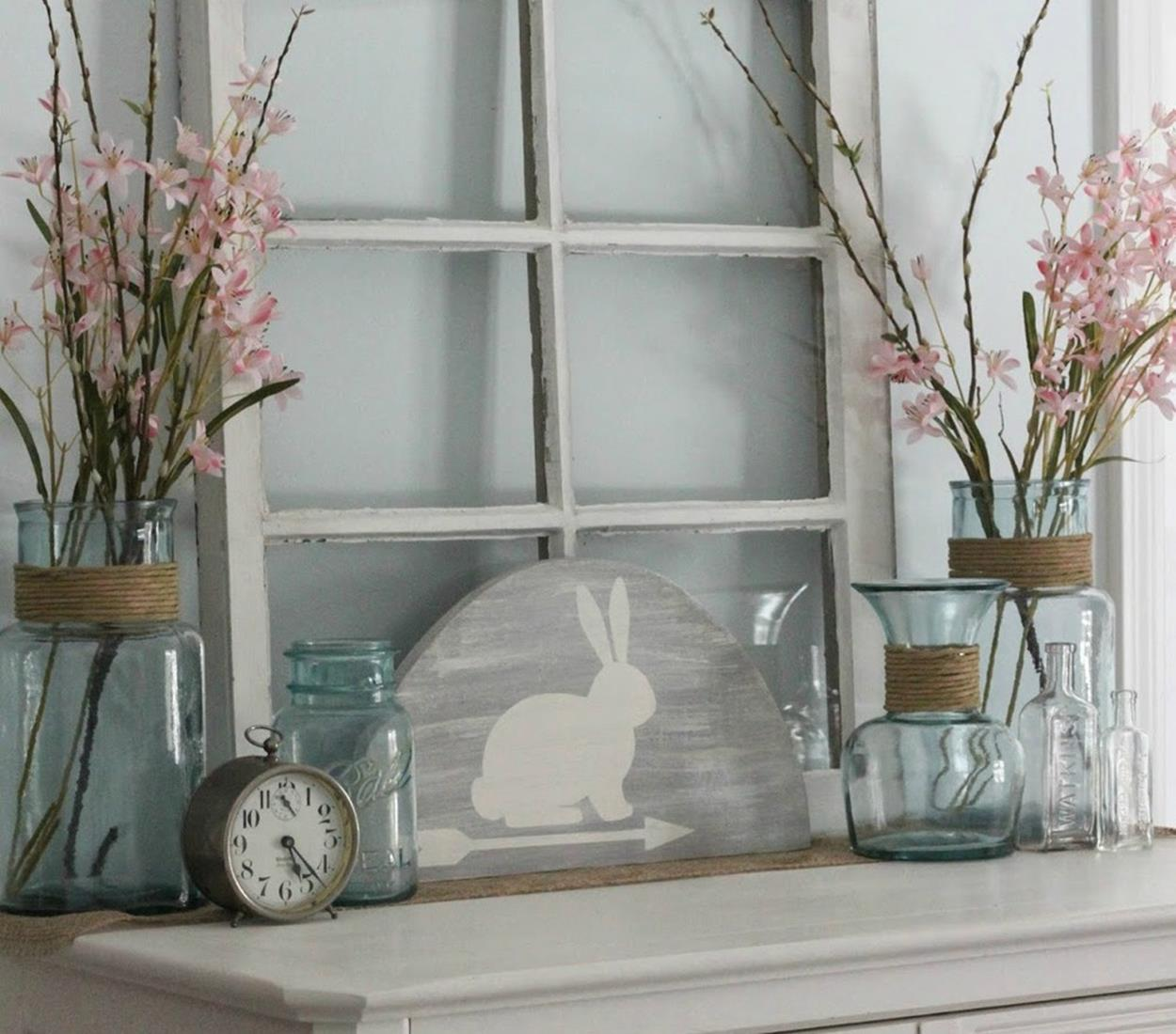 Cute Wooden Easter Decorations for the Outside 1