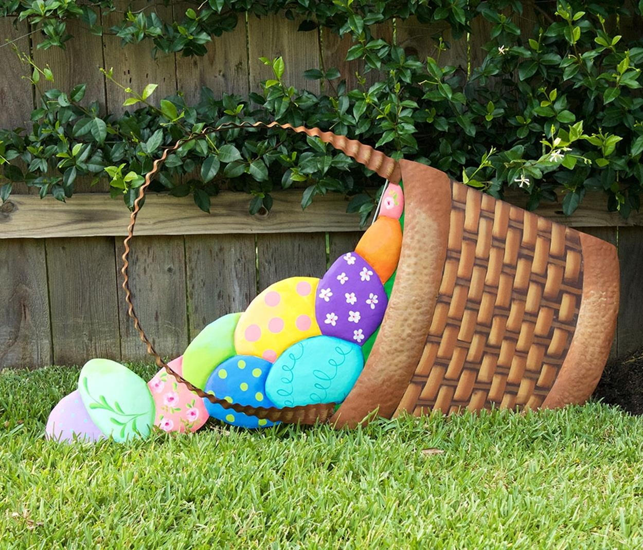 Cute Wooden Easter Decorations for the Outside 11
