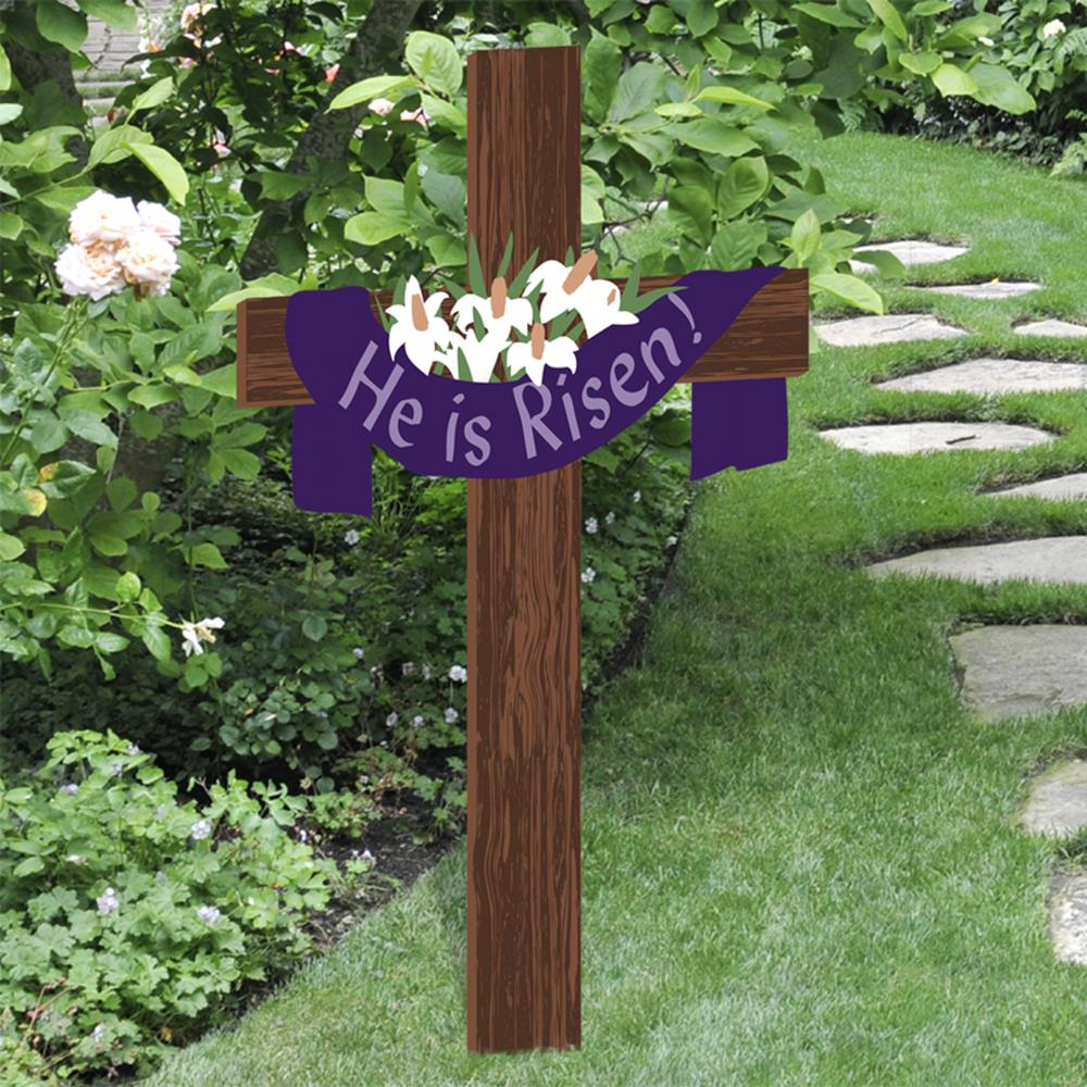 Cute Wooden Easter Decorations for the Outside 24