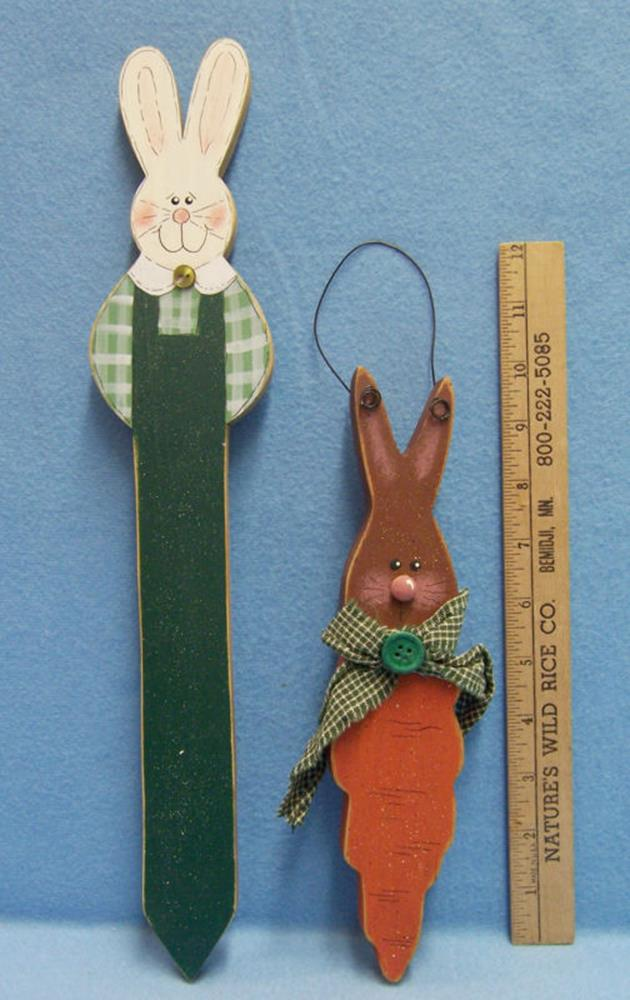 Cute Wooden Easter Decorations for the Outside 3