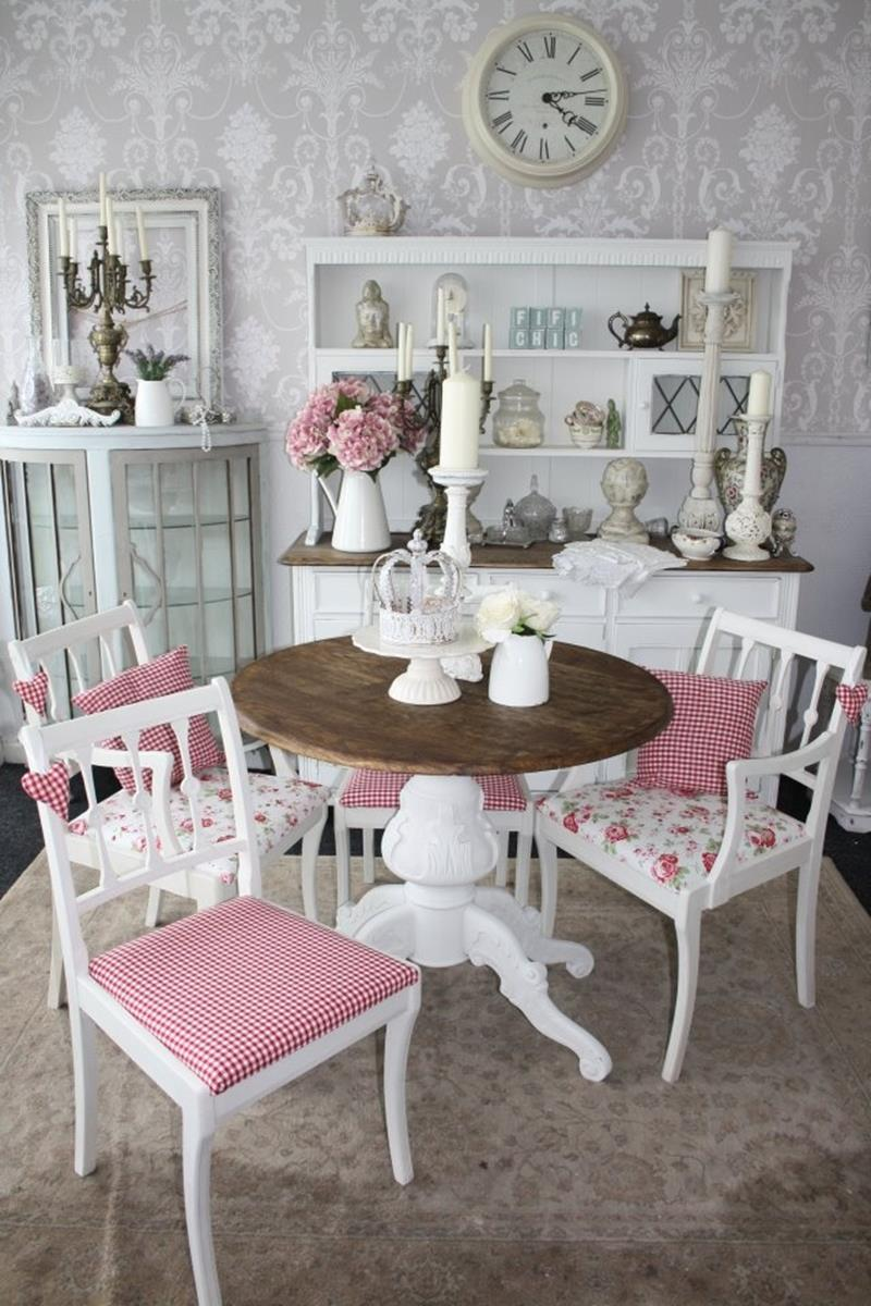 Inexpensive Shabby Chic Craft Table Ideas 24