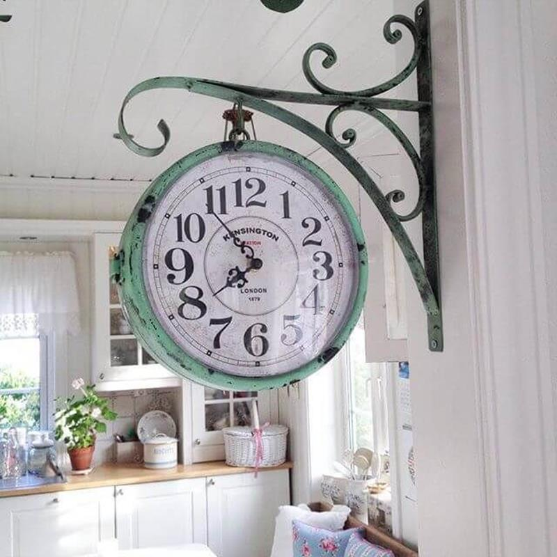 Shabby Chic Kitchen Wall Decorating Ideas 13