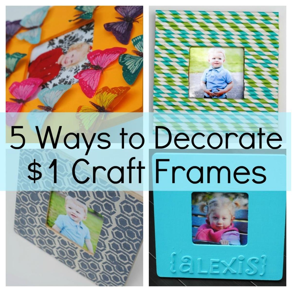 Wooden Picture Frame Decorating Ideas 12