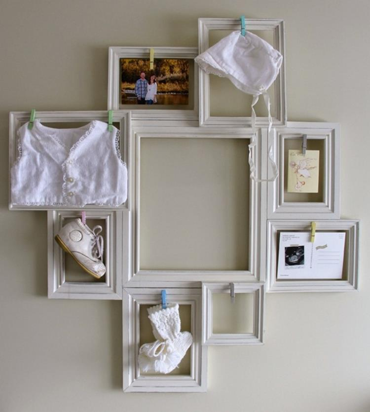 Wooden Picture Frame Decorating Ideas 15