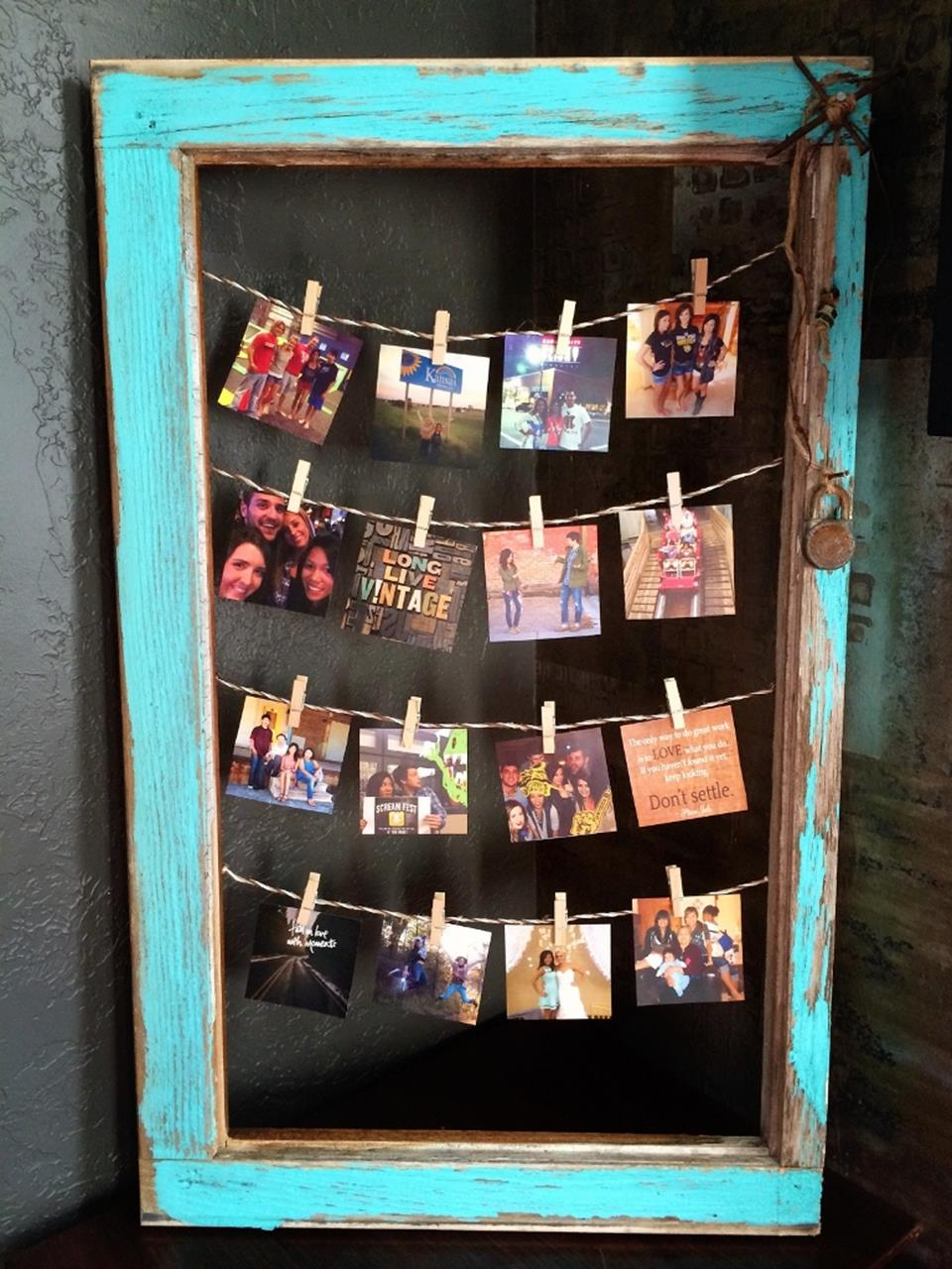 Wooden Picture Frame Decorating Ideas 22