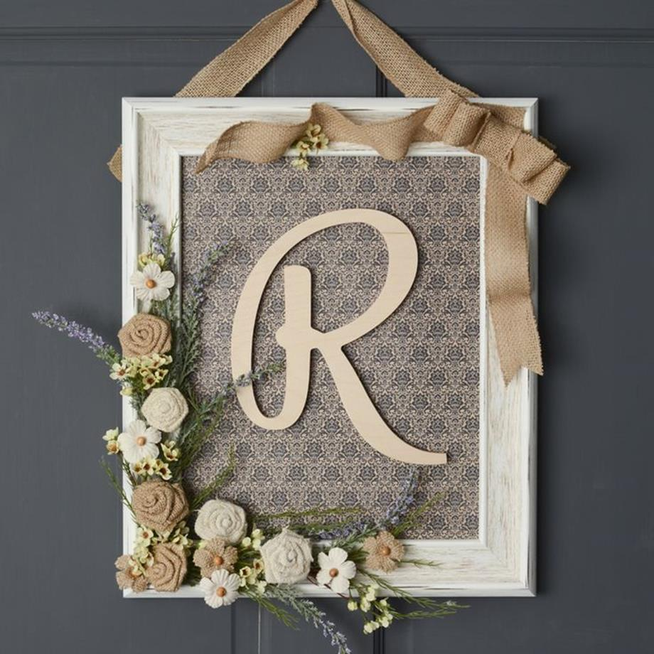 Wooden Picture Frame Decorating Ideas 5