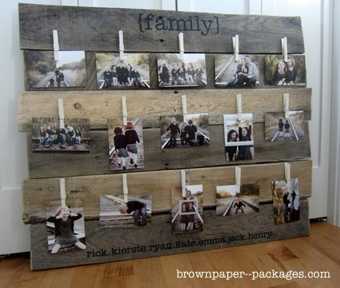 Wooden Picture Frame Decorating Ideas 8